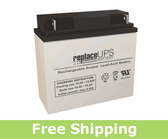 Union Battery MX-12180 - SLA Battery