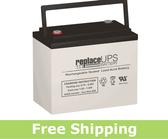 Long Way LW-3FM160GJ Replacement Battery