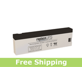 SigmasTek SP12-2.3C - SLA Battery