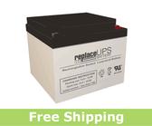 Helios FB12-26-F2 - SLA Battery