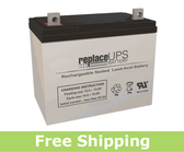 Jupiter Batteries JB12-075 - SLA Battery