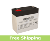 National Power Corporation GF017R5 - Emergency Lighting Battery