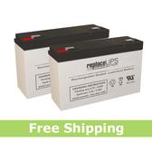 Simplex Alarm 20013072 12VOLT Batteries (Set of 2)