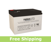 GS Portalac PE1012RF1 - Emergency Lighting Battery