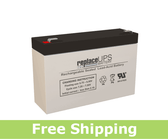 GS Portalac PE6V7.2F1 - Emergency Lighting Battery