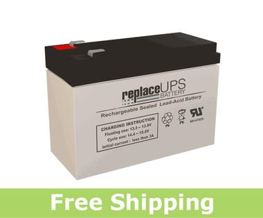 GS Portalac TPH12100 - Emergency Lighting Battery