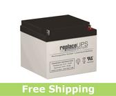 Prescolite ERB-1224 - Emergency Lighting Battery