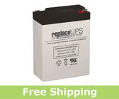 Dual-Lite 12-535 - Emergency Lighting Battery