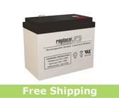 Dual-Lite 12-634 - Emergency Lighting Battery