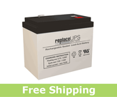 Dual-Lite 12-254 - Emergency Lighting Battery