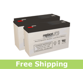 Tripp Lite INTERNET700I (2 battery version) - UPS Battery Set