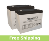 Merits Travel-Ease Bariatrics MP3HD - Wheelchair Battery Set