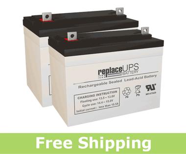 ActiveCare Medical Renegade - Wheelchair Battery Set