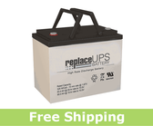 Gruber GPS12-80-I - High-Rate UPS Battery