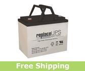 Gruber GPS12-80-I - High-Rate UPS Battery