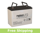 Gruber GPS12-140-I - High-Rate UPS Battery