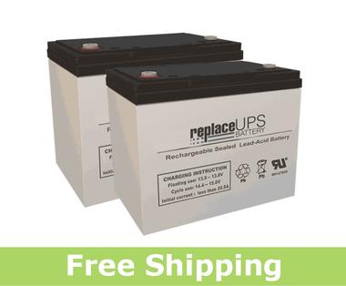 Permobil C400 CS - Wheelchair Battery Set