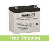 Universal Power UPG 12V-55AH R - Solar Battery