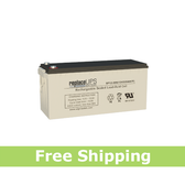Enduring CB200-12 4D SCADA Solar - Replacement Battery