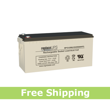 NPP NPD12-250 IT - Replacement Battery