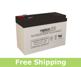 Enerwatt WP7.2-12 Replacement UPS Battery