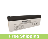 Enerwatt WP2.3-12 Replacement UPS Battery