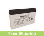 Enerwatt WP2-12 Replacement UPS Battery