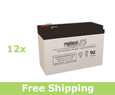 Dell 1920R EBM (J735N) Replacement Batteries (Set of 12)