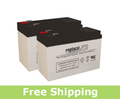 APC Back-UPS XS BX1000 Replacement Batteries (Set of 2)