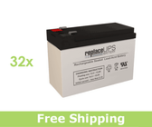 Tripp Lite BP192V18-4U - UPS Battery Set