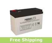 Raion Power RG1270T2 12 Volt 7 Amp Hour T2 Battery (Replacement)