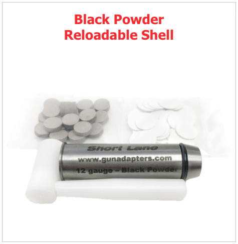 Black Powder Reloadable Shell