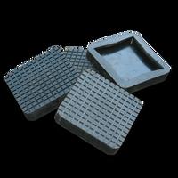 BendPak Square Rubber Lift Pad Slip Over (Set of 4)