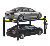 AMGO 409-HP 9,000 lbs. Capacity  4-Post  Tall Parking Auto Lift