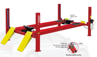 AMGO PRO-14A 14,000 lbs. Capacity Alignment 4 Post Auto Lift