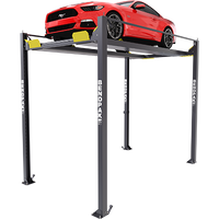 HD-7PXW (5175516) 7,000-lb. Capacity / Super-Tall Rise / Four-Post Lift / Vehicle Display Platform