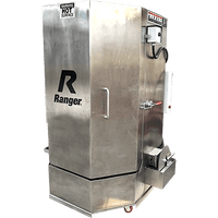 Ranger RS-500DS Stainless Steel Spray Wash Cabinet / Dual-Heaters / Low-Water Shutoff