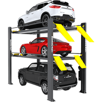 BendPak HD-973PX (5175267) 9,000 and 7,000 Lb. Capacity / Tri-Level Parking Lift / Extended / High Lift / SPECIAL ORDER