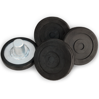 Round Lift Pad Adapter Assembly for  2- Post   Lifts w/ 35mm Pin (Priced per Piece)