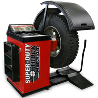 Ranger RB24T Super‐Duty Truck Wheel Balancer with Drive‐Check™ Technology with Deluxe Adapter Kit & Quick Chuck