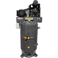 BendPak TS-580V-601 Elite™ Air Compressor, 5 HP, 80‐Gallon Vertical Tank
