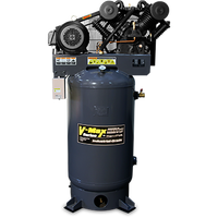 BendPak 7580V-601 V-MAX Elite™ Air Compressor, 7.5 HP, 80‐Gallon Vertical
