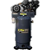 BendPak 7580V-601 V-MAX Elite™ Air Compressor, 7.5 HP, 80‐Gallon Vertical
