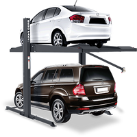 BendPak PL-7000XR 7,000-lb. Capacity, Two-Post Car Stacker Parking Lift