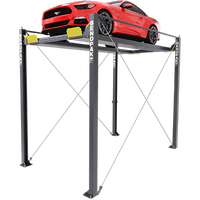 Bendpak  HD-7MZ  7,000-lb. Cap Super-Tall Four-Post Lift / Vehicle Display Platform