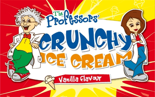 Crunchy Ice Cream
