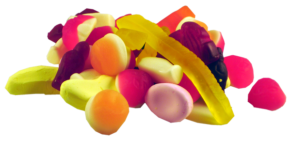 Allens Party Mix, by Allens Confectionery,  and more Confectionery at The Professors Online Lolly Shop. (Image Number :2563)
