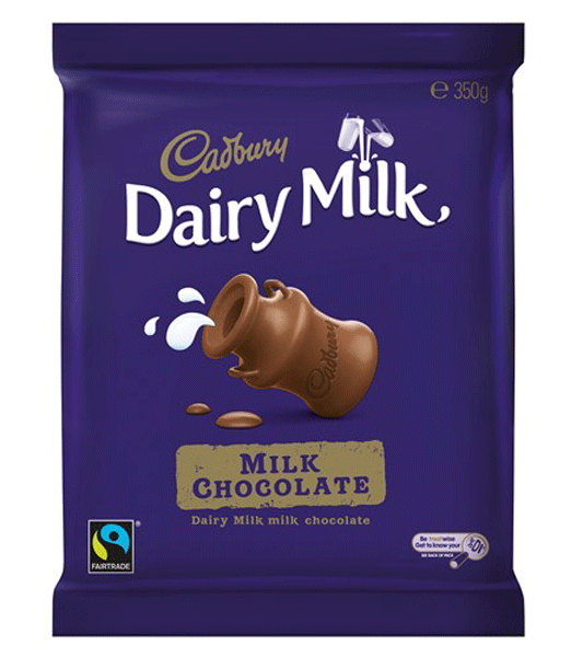 Cadbury Dairy Milk Large Blocks, by Cadbury,  and more Confectionery at The Professors Online Lolly Shop. (Image Number :9972)