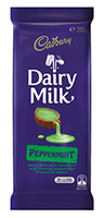 Cadbury Dairy Milk Peppermint Family Blocks, by Cadbury,  and more Confectionery at The Professors Online Lolly Shop. (Image Number :9261)