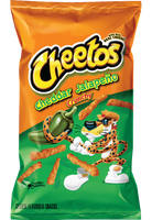 Cheetos Crunchy Bulk - Jalapeno Chedar and more Snack Foods at The Professors Online Lolly Shop. (Image Number :10920)